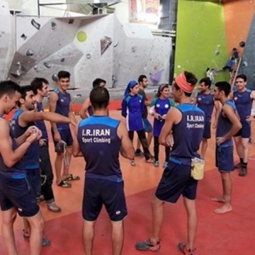 سومین مرحله اردوی آمادگی تیم ملی سنگنوردی سرعت جهت اعزام به بازیهای آسیایی جاکارتا قزوین ـ تیر ۹۷