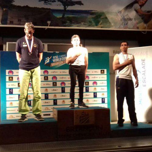 کسب مدال طلا و برنز جام جهانی معلولین در فرانسه توسط بهنام خلجی و امیر سبزی