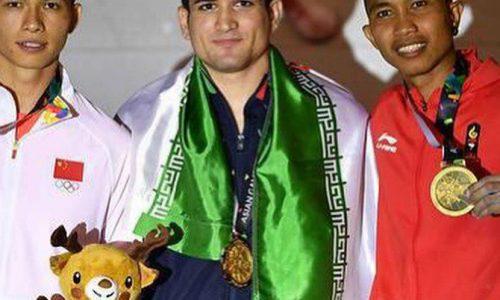 رضا علیپور در سنگ نوردی بازی های آسیایی 2018 اندونزی طلایی شد
