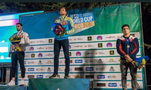 «رضا علیپور» موفق به کسب مدال برنز جام جهانی سنگنوردی در «آرکو» ایتالیا شد