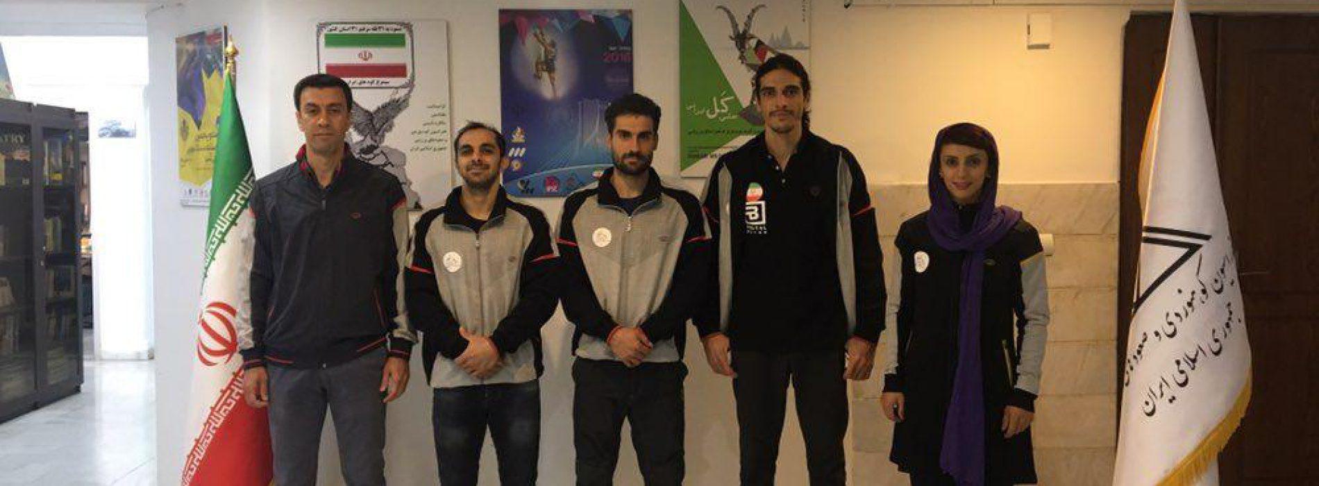 تیم ملی سنگنوردی بزرگسالان به رقابتهای قهرمانی آسیا اعزام شد.
