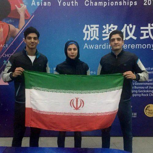 درخشش سنگنوردان ایران در مسابقات قهرمانی آسیا